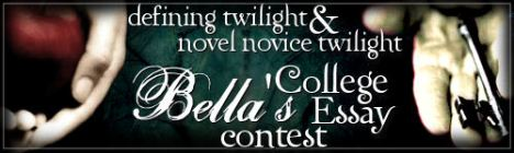 defining twilight and nnt bella's college essay contest