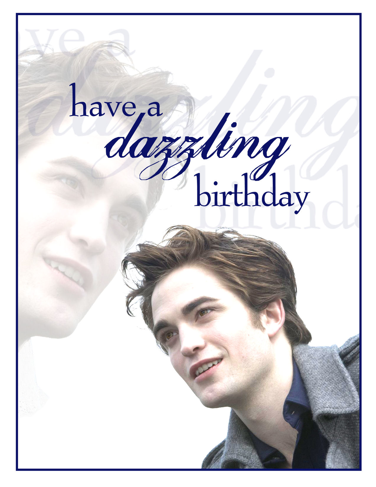 Saturday Special Twilight Birthday Cards – Twilight Birthday Card