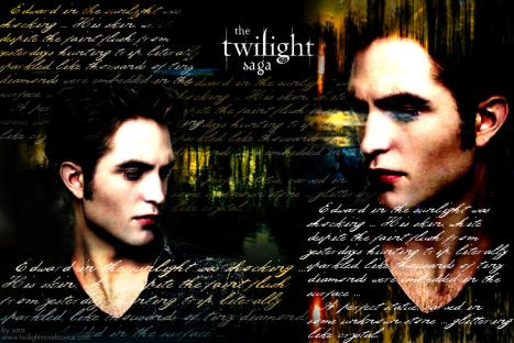twilight saga_edward in the sunlight