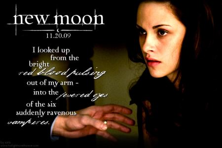 new moon suddenly ravenous