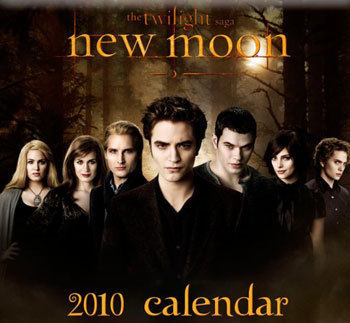 new moon calendar cover