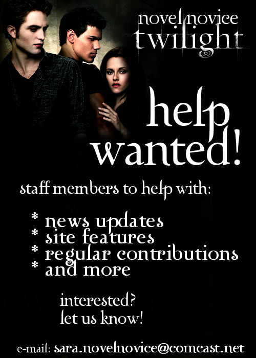 Were Looking For New Staff Members