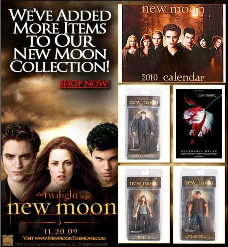 hot topic new moon