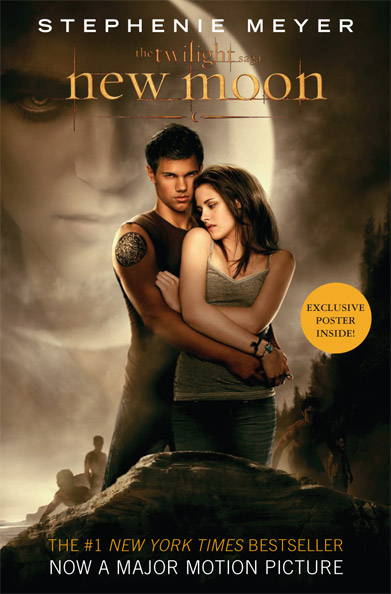 new moon movie book cover