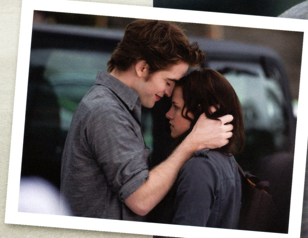 are bella and edward dating in real life