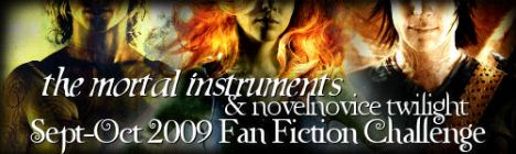 mortal instruments fan fic challenge