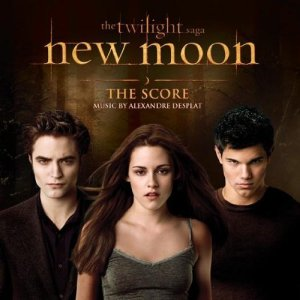 new moon score cover
