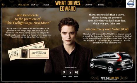volvo what drives edward