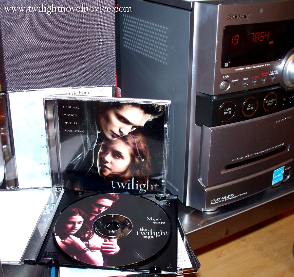 You Can Use The Twilight And New Moon Movie Soundtracks And Movie Scores  For Background Music You Can Alsopile Mix Cds (or An